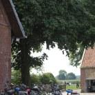 Fahrräder auf dem Milchhof Große Kintrup