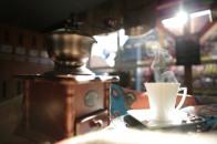 der Duft von frisch gemahlenem Kaffee ist unschlagbar