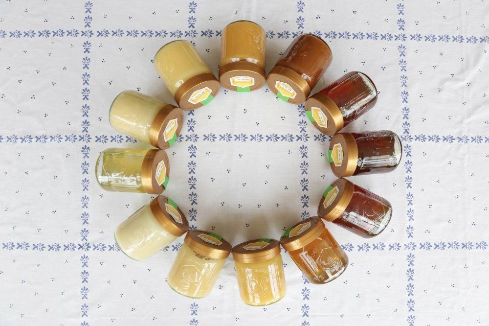 Jede Sorte Honig hat eine ganz eigene Farbe© Maren Kuiter