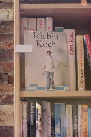 Kochbücher im Bistro Regiona Wilminks Parkhotel Neuenkirchen