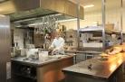 In der Küche des Hofcafés