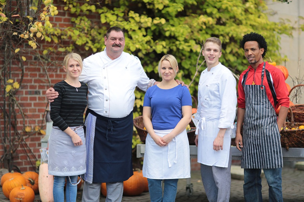 Küchen-Team Hofcafé Grothues-Potthoff