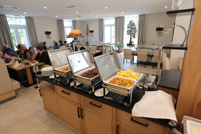 Buffet im Hofhotel Grothues-Potthoff