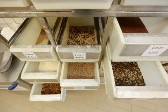 Schubladen für jede Körnermischung