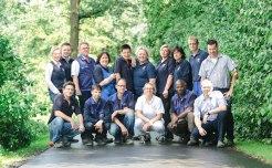 Das Team auf dem Vriesenhof