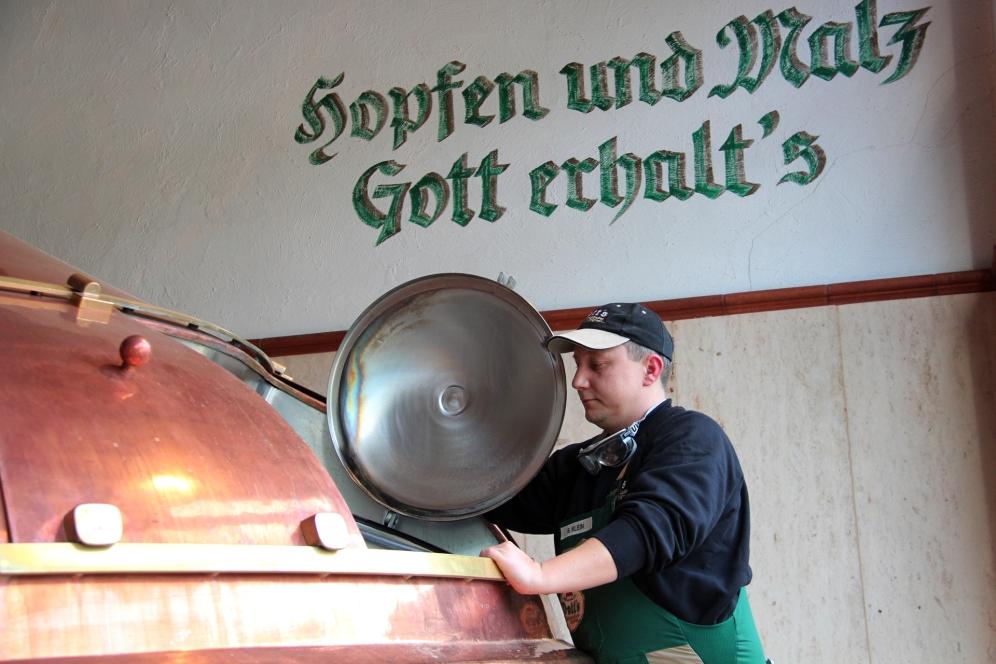 Brauer Stefan Klein im Sudhaus