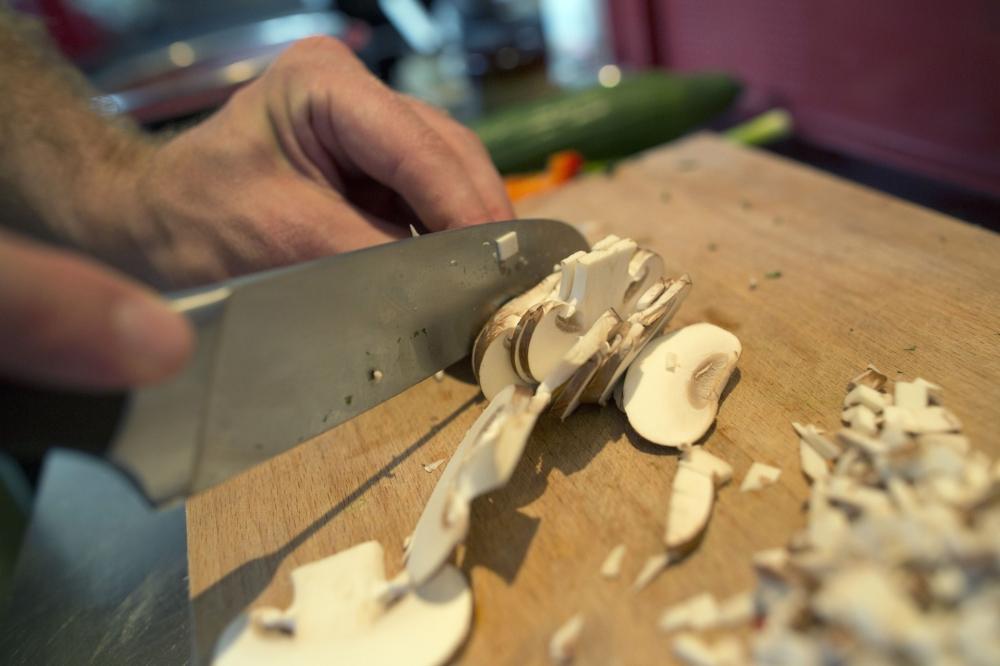 Leser kochen für Kochbuch in Landgenusswerkstatt