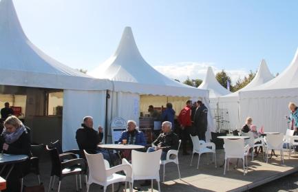 Auch im Expo-Café bei Michael Mersbäumer gab es regionale Leckerbissen.
