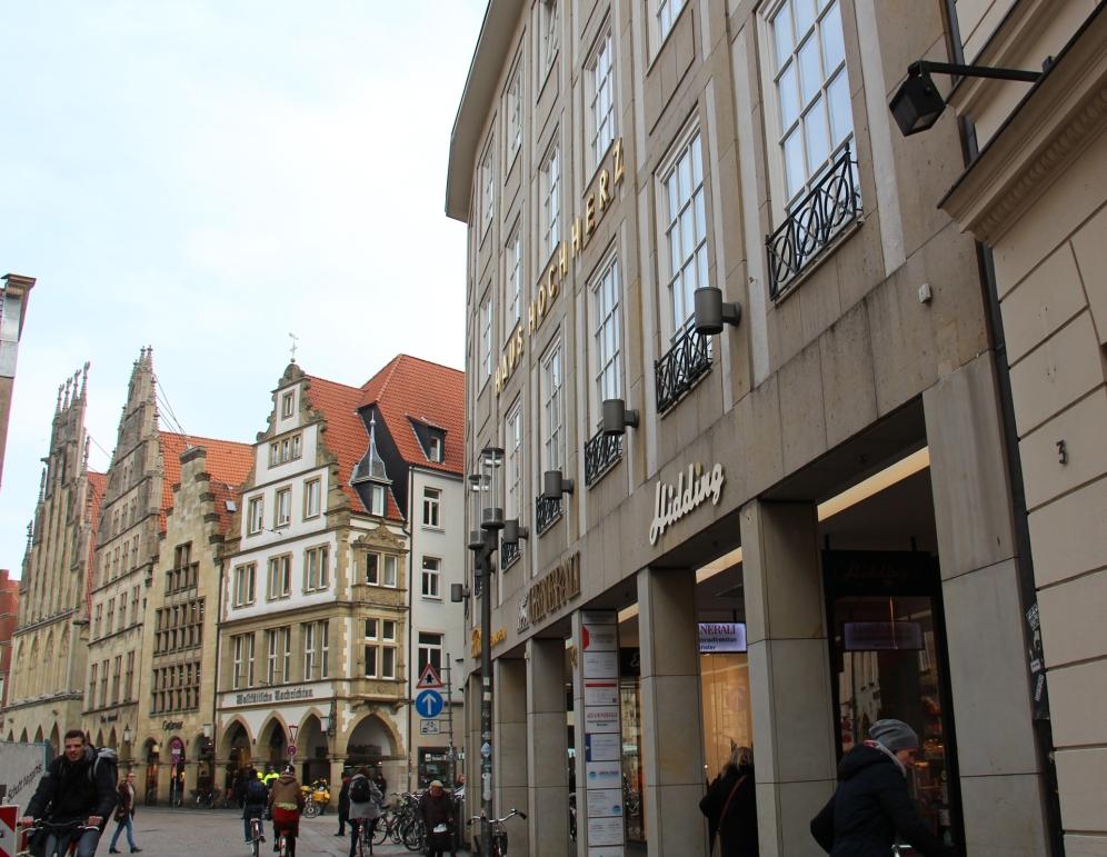 Ein Schmuckstück: die Fleisch-, Wurst- und Schinkenmanufaktur an der Rothenburg in Münster.