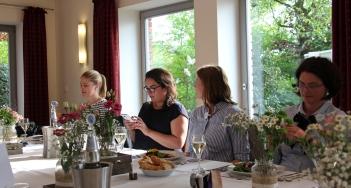 Tanja Farwick, Leila Prousch, Genevieve Wiehe, Denise Colquhoun (v.l.)
