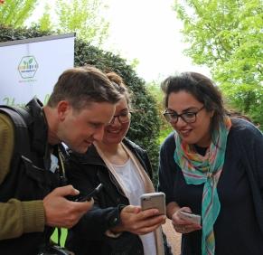 Felix Schäferhoff, Lisa Nieschlag und Leila Prousch.