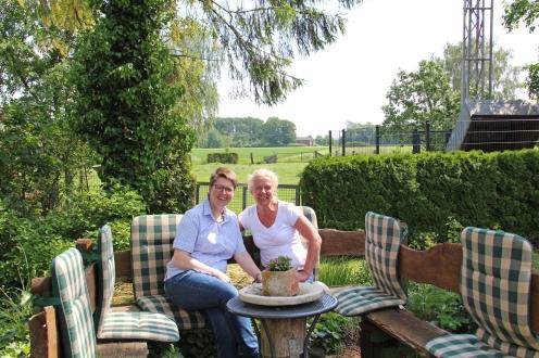 Susanne ist seit 25 Jahren nicht nur Kollegin, sondern auch gute Freundin.