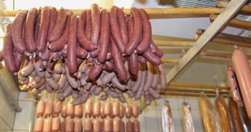 Die schlesische Wellwurst ist eine besondere Spezialität der Fleischerei Laschke.