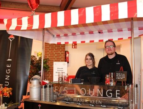 Lilith Niewerth und Christian Litwa von der Eis Lounge Maria Veen.