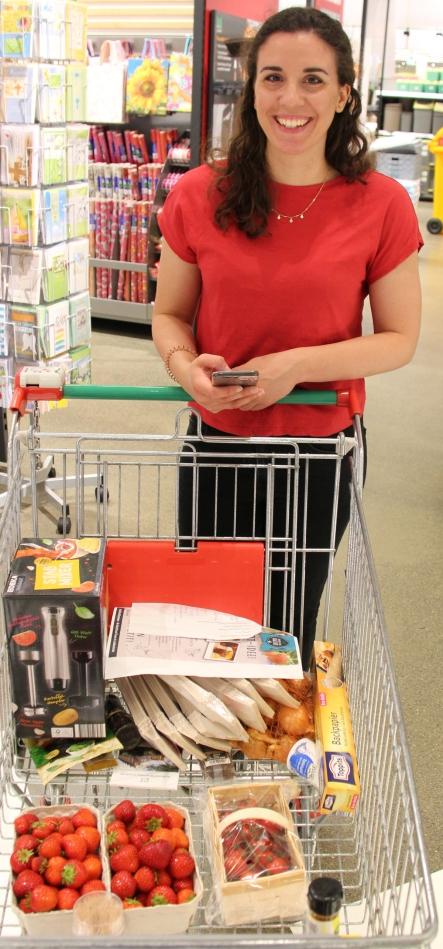Die Erdbeer-Shopping-Queen
