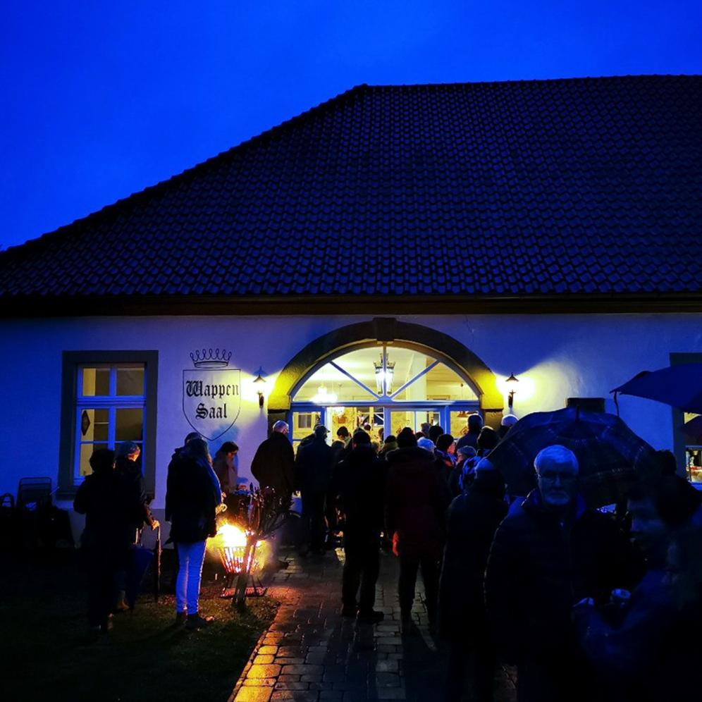 Blaue Stunde mit Punsch. Foto: Münsterland e.V.