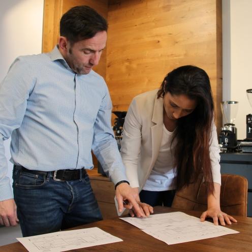 Privat und beruflich ein Dream-Team:Mike und Sarah Novak.